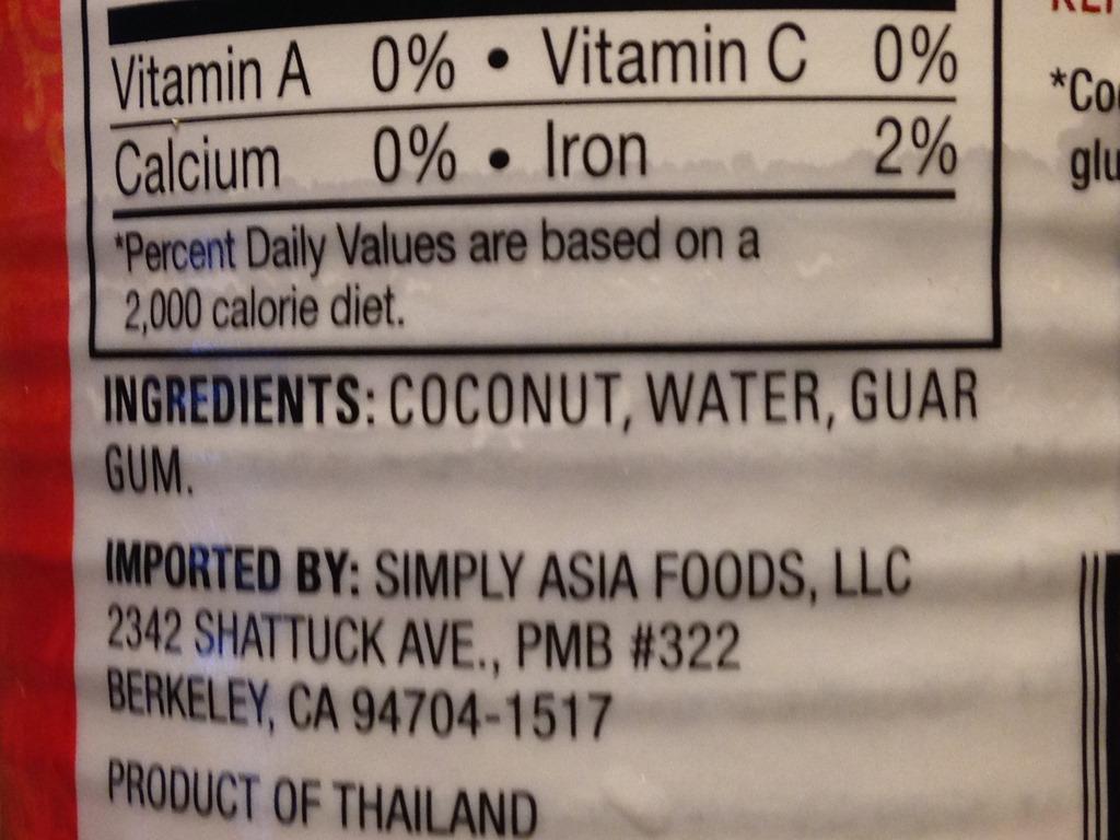 coconut milk | the whole geek