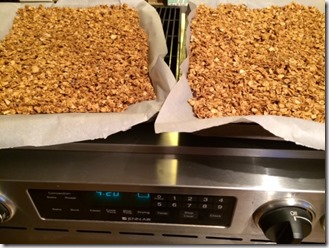 Granola Before Putting Into Oven
