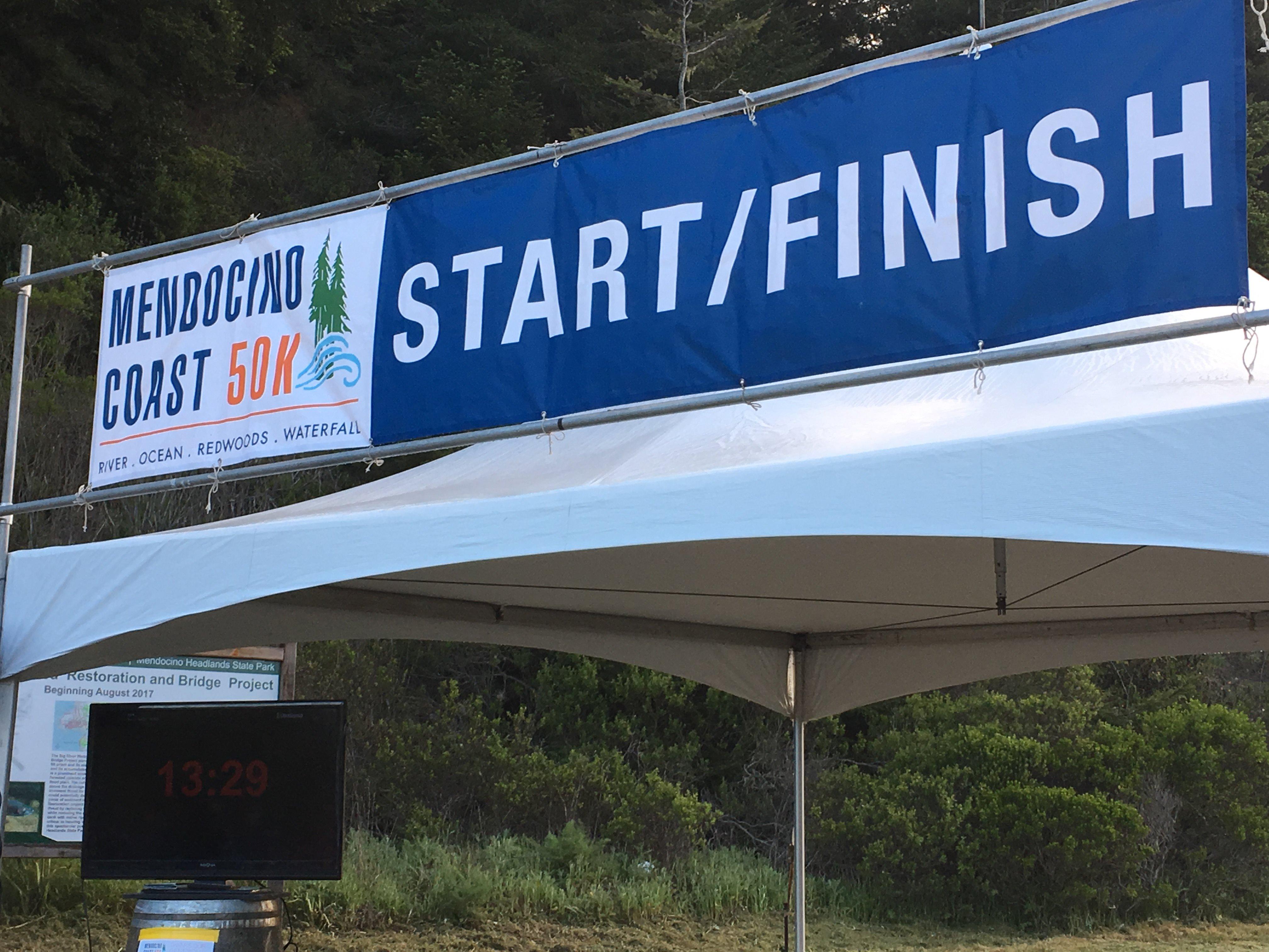 Photo of start/finish