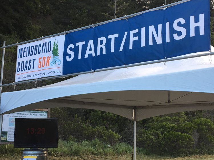 Photo of start/finish